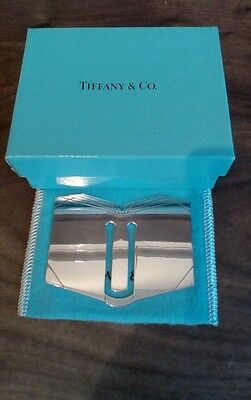 Tiffany & Co Sterling Silver Book shaped Bookmark