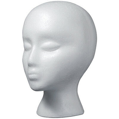 Styrofoam Head EPS Female Bulk White RS260
