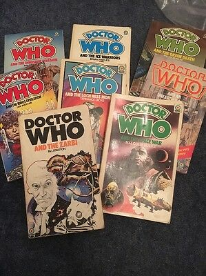 Dr Who Book Collection