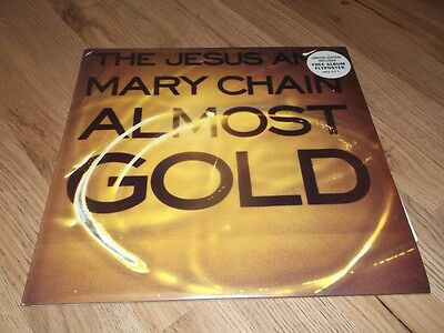 """Jesus And Mary Chain Almost Gold Very Rare Ltd 12""""vinyl  Single With Poster"""