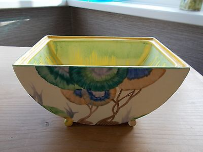 Clarice Cliff hand painted tureen / bowl - no lid