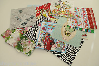 40 x DIFFERENT Paper Napkins MIXED THEMED - Set 8 - DECOUPAGE/CRAFTS/COLLECTORS
