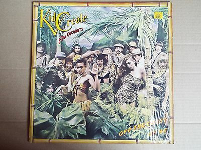 Kid Creole & The Coconuts-Off the Coast of Me LP
