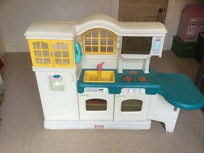 Little Tykes Country Kitchen and extras