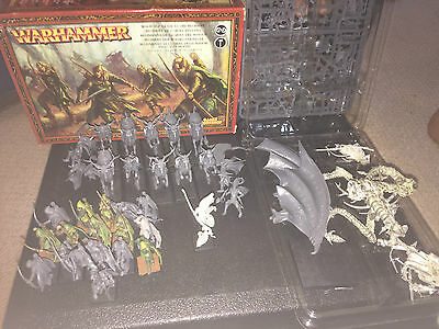 Warhammer - Wood Elves Army - Includes Sisters of Twilight Rare OOP Dragon