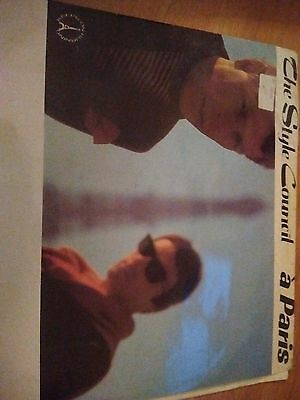 The Style Council Record a Paris 12 Single with Paul Weller
