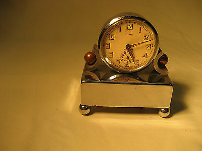 Apollo Windup Alarm Clock With Music Box Base From 1930's  **signed**
