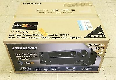Onkyo TX-NR656 7.2 Channel Network AV Stereo Receiver with wireless Bluetooth