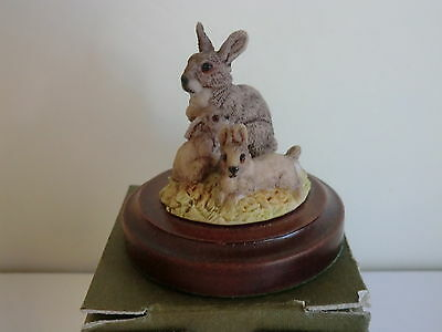 Natures Heritage Rabbit Ornament - BOXED