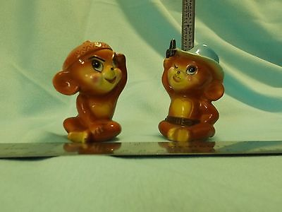 RARE Salt & Pepper SHAKERS of JERRY from TOM & JERRY ANIMATED CARTOON CHARACTERS
