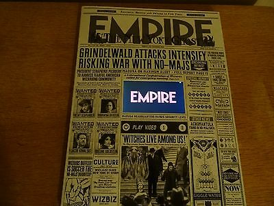 Fantastic Beasts Empire Magazine - December 2016 Limited Edition - Harry Potter