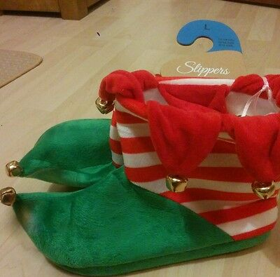 elf slippers size 7