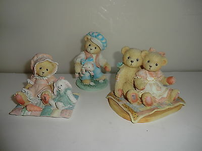 Three Cherished Teddies - Faith, Nathaniel & Nellie & Tom Tom The Piper's Son