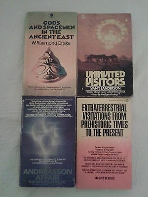 EXTRATERRESTRIAL/UFO BOOK COLLECTION (4 x BOOKS)