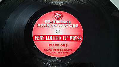 "12"" garage ice cream records flake003 flava on wax limited re press sweet lurve"