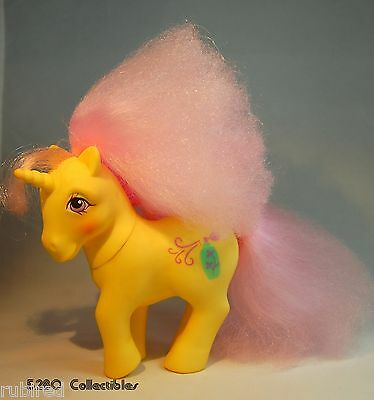 My Little Pony G1 - Red Roses - 1988 Perfume Puff Pony - Gorgeous! HTF