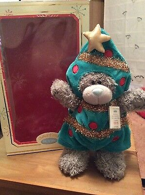 Me to You Limited Edition Christmas Tree Bear: Tatty Teddy in Costume