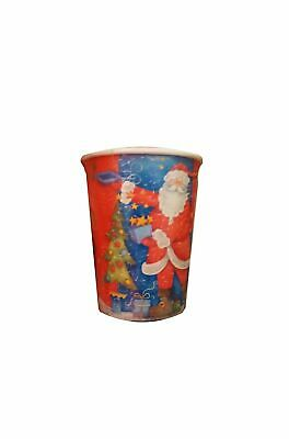 Natale Party Rosso Babbo Natale Bicchieri in carta 10pzx255cc