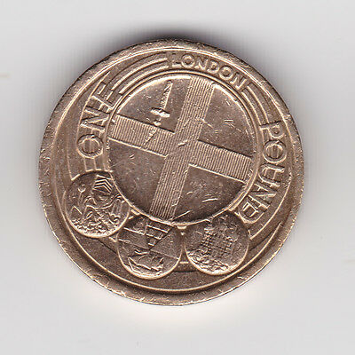 £1 Coin Capital Cities Of The Uk London
