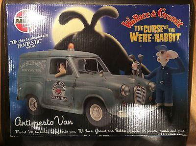 Airfix Wallace & Gromit model kit - The Curse of the Were-Rabbit