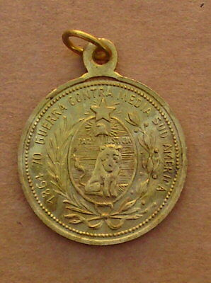 alte Gedenk - Medaille- chaco paraguay invasion Bolivia 22 Fortines 1929 (AC08a)