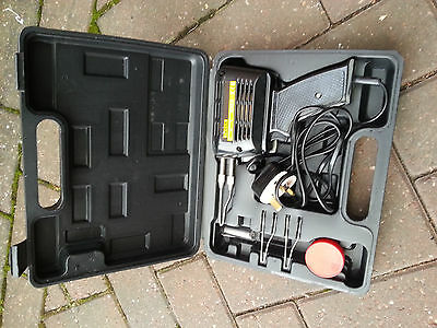 Focus 150W Soldering Gun with Spare Tips and Case