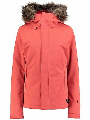 Oneill Poppy Red Curve Womens Snowboarding Jacket