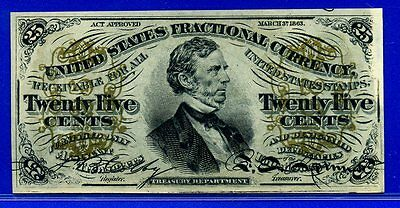 FR1294 Third Issue 25 Cent ** Gem-UNC-Plus ** FRACTIONAL (( Green Back ))