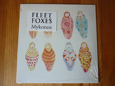 Fleet Foxes - Mykonos (Bella Union, 2009) NEW and SEALED