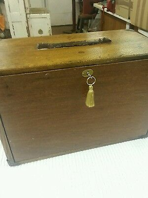 vintage moore and wright engineers toolbox