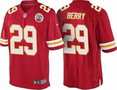 Nike NFL Kansas City Chiefs Eric Berry Game Jersey 468957 658 Size XL BNWT