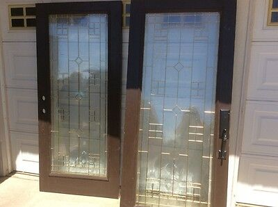 Beveled Glass Entrance Door Remodel Take Offs