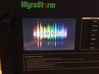 Wyrestorm MX-1616 HDMI Matrix for up to 16 HDMI Inputs to up to 16 HDMI Outputs