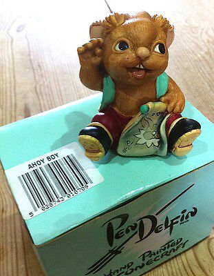 SUPER PENDELFIN FIGURINE IN GREAT CONDITION: 'Ahoy Boy' WITH BOX