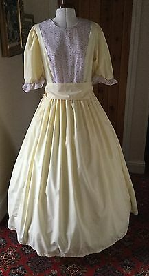 Ladies Victorian Style Day Dress/pantomime Chorus Theatrical Stage Costume