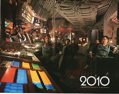 2010 THE YEAR WE MAKE CONTACT 1984 FILM MOVIE US LOBBY CARD SET x 12 CARDS