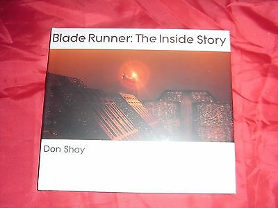 Blade Runner 1982 Movie Film : The Inside Story Book By Don Shay 1St Edition New