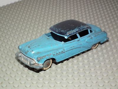 DINKY TOYS MINIATURES MODELL - VEHICULE : Voiture Buick Roadmaster 24V bleue