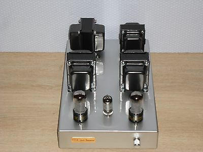 Tube amplifier Hi End amplificatore valvolare STEREO CLASS A single ended triode