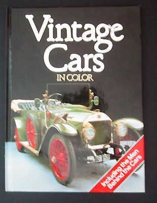 VINTAGE CARS IN COLOR Hard cover