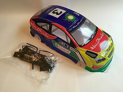 RCG Racing Ford Focus Rally Body Shell 190mm Drift RC Painted 1:10th Car Road