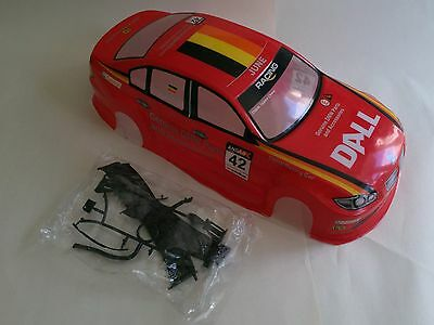 BMW 3 Series Painted Body Shell 190mm Red Drift New In Uk Sport 1/10 Car RC M3