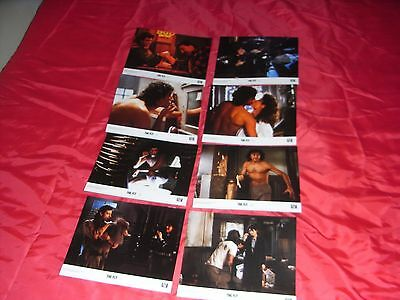 The Fly 1986 Movie Film Uk Lobby Card Set English Front Of House Stills