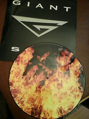 """GIANT UK 1992 PICTURE DISC 12"""" Single STAY"""