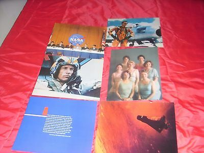 THE RIGHT STUFF 1983 SPACE EXPLORATION DRAMA MOVIE FILM 6x US LOBBY CARDS STILLS