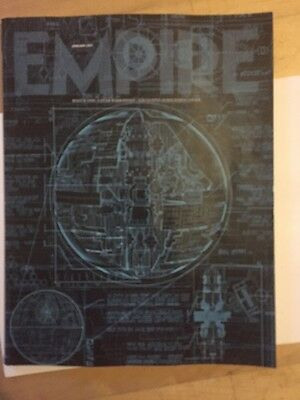 Empire January 2017 Subscribers Cover Star Wars Rogue One.  Includes Poster
