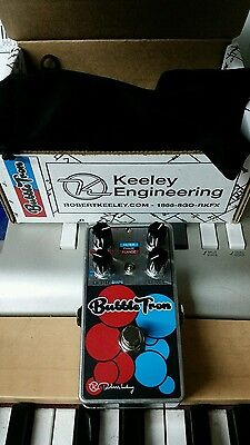Keeley Bubble Tron flanger phaser envelope pedal Bubbletron