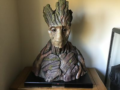 Life size 1/1 Groot Bust Guardians Of The Galaxy Prop