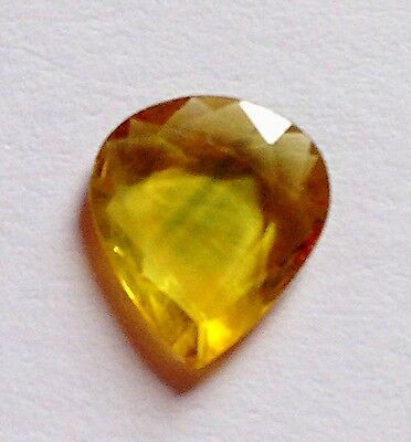 Natural Loose Rare 1.75ct  Yellow Pair Shaped Excellent Cut Sapphire