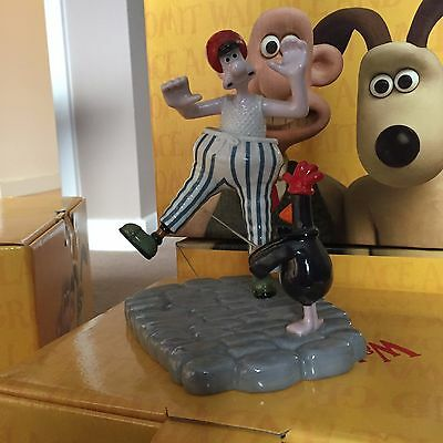 Coalport Wallace and Gromit-Wallace out of control -LIMITED EDITION - 642 /750